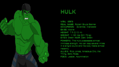 AVENGERS THE ULTIMATE CHARACTER GUIDE Part 1